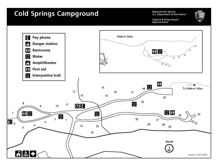 Cold springs campground mineral king