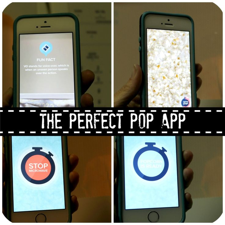 Find out how to make the perfect popcorn. Use The Perfect Popcorn App. Yes there is an app for that!