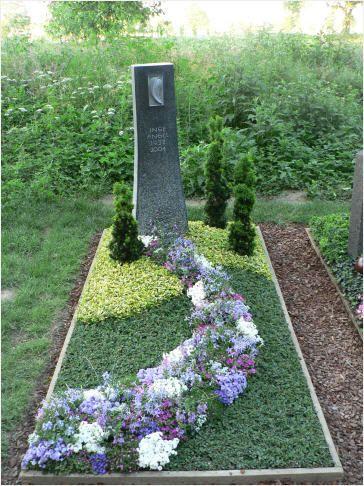 Die 25+ Besten Ideen Zu Grabbepflanzung Herbst Auf Pinterest ... Grabgestaltung Ideen Blumen Pflanzen Deko