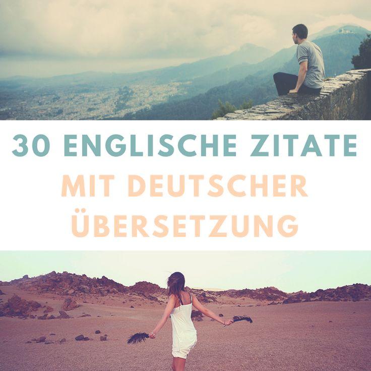 englische Zitate mit deutscher Übersetzung