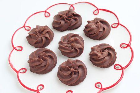 Chocolate sablés