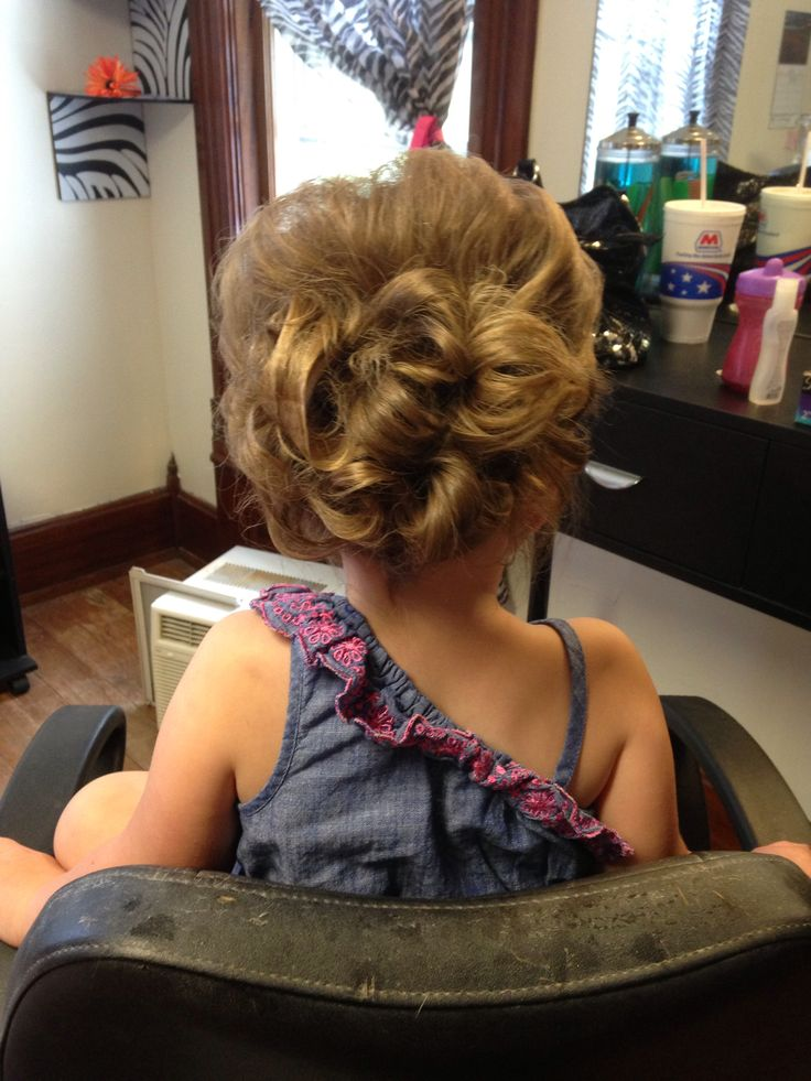 Toddler updo