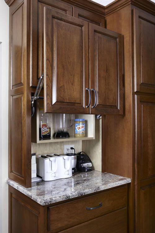 This example of an appliance garage door (see below ...