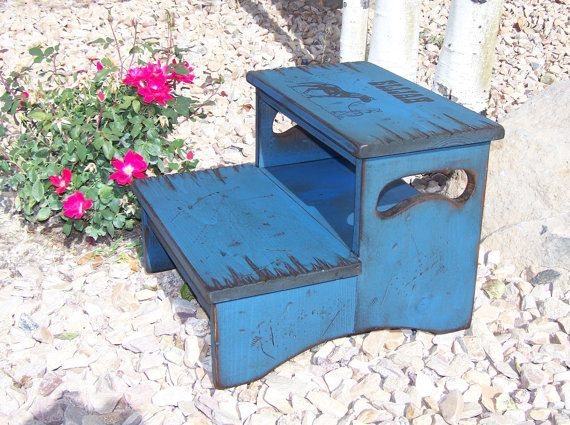 Two Step Stool Personalized Woodworking Projects Amp Plans