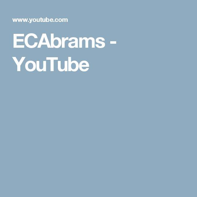 ECAbrams - YouTube