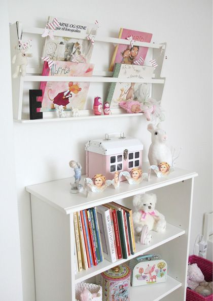 I like the book case up high and out of the way!