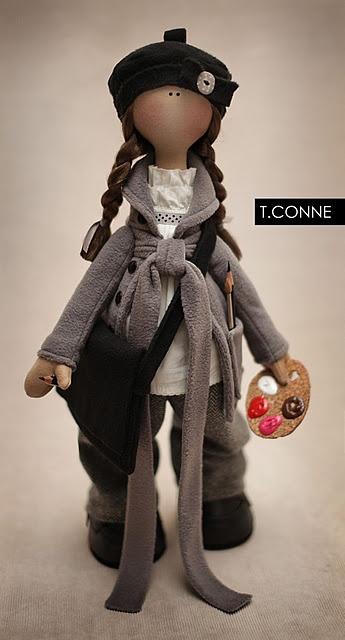 Gorjuss Inspired Dolls