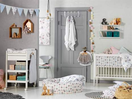 NG Baby, Harlequin, Vimpel, 3 meter, Blå Tavlor & Vimplar Inredningsdetaljer Barnrum på nätet hos Lekmer.se