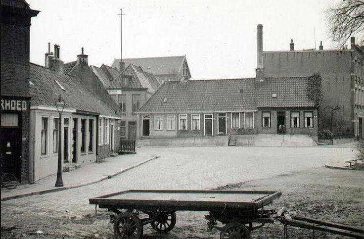 Grote Leliestraat gezien vanaf de Noorderbinnensingel in 1937 - Foto's SERC