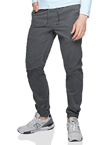 Match Men's Loose Fit Chino Jogger Pant (32,6054 Dark gray).