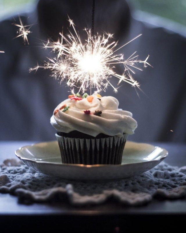 23+ Brilliant Picture of Birthday Cake Sparklers