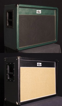 Studio Pro 2x12 Cabinet. The Studio Pro is designed to be the only cab you are going to ever need. It is an almost oversized design with large dimensions, 15mm birch ply and heavy build construction. It has an angled baffle as well as a three piece back panel allowing both open and closed back configuration with minimum effort.