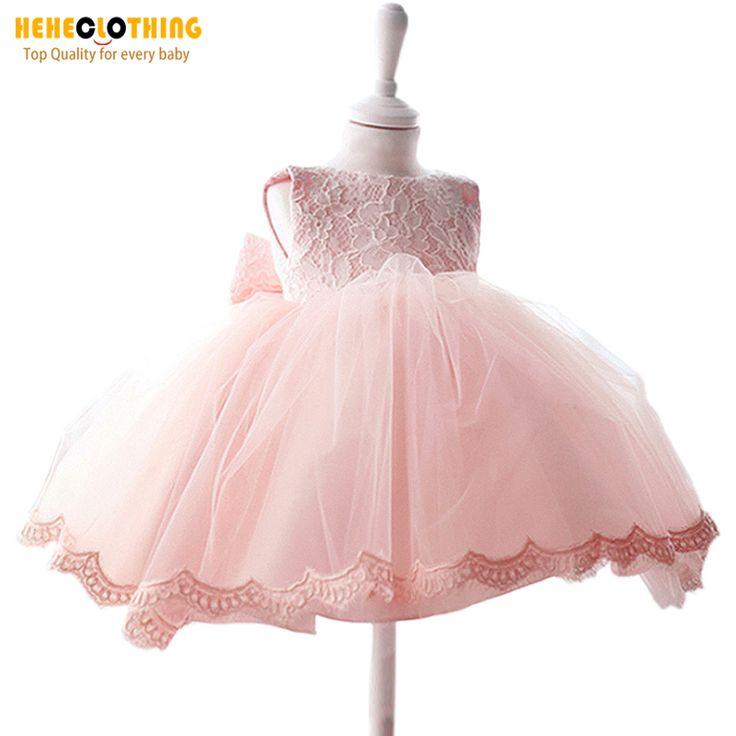 Дешевые официальные кружевные платья для принцессов и невесты  платья для девушек для свадьбы и венчания платья для пасхального вечера для новорожденных малышей детские платья