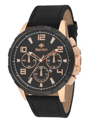 Ρολόι ανδρικό με δερμάτινο λουράκι Bentini 15K67