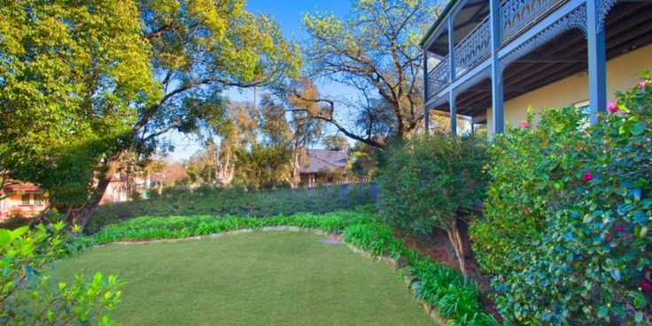 Beautiful gardens, landscaped, large, private level lawn