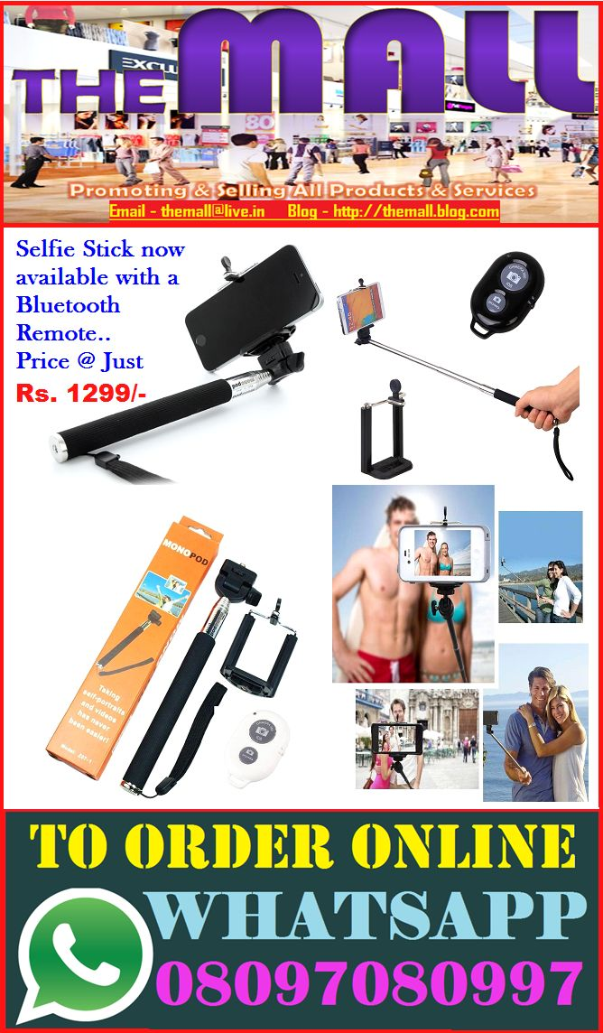 Selfie Stick with Remote..