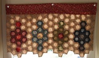 Hexagon curtains