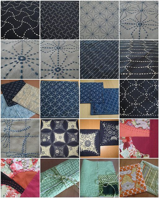 Japanese Sashiko Embroidery Patterns Quilting It S In