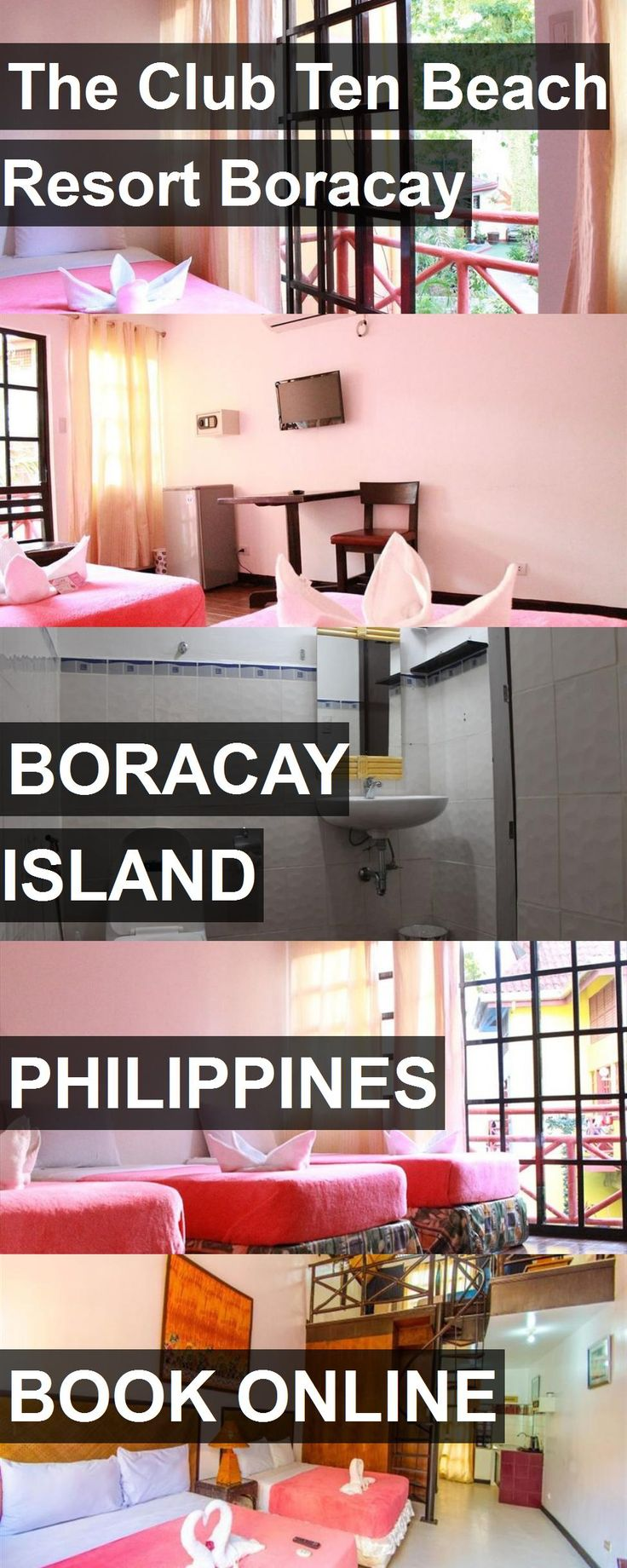 Hotel The Club Ten Beach Resort Boracay in Boracay Island, Philippines. For more information, photos, reviews and best prices please follow the link. #Philippines #BoracayIsland #travel #vacation #hotel