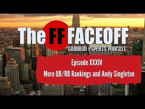 Fantasy Football 2018: Top 11-20 Running Back Rankings with Guest Host A...