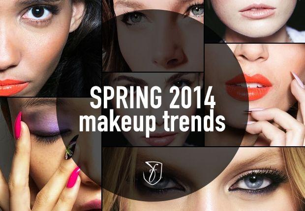Spring 2014 makeup trends & tutorials