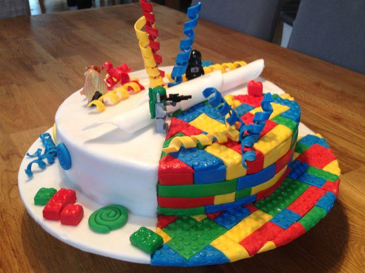 Lego Torte Fondant