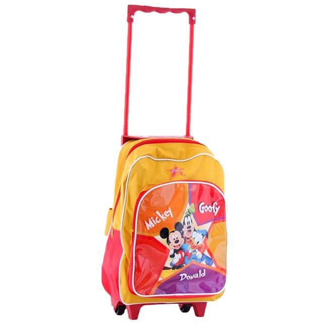 Un joli trolley à roulettes Disney avec MIckey et ses amis - Sac mixte pour enfant - Sac valise pour l'école maternelle ou primaire - Idéal rentrée scolaire  http://www.lamaisontendance.fr/catalogue/trolley-a-roulettes-disney-mickey-ecole/  #sacenfant #sac #sacécole #école #bagage #bagagerie #rentréescolaire #primaire #écoleprimaire #disney #mickey #trolley #valise