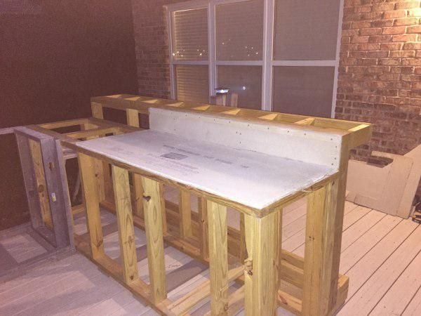 A boring deck or a cool outdoor kitchen? - HomeMajestic