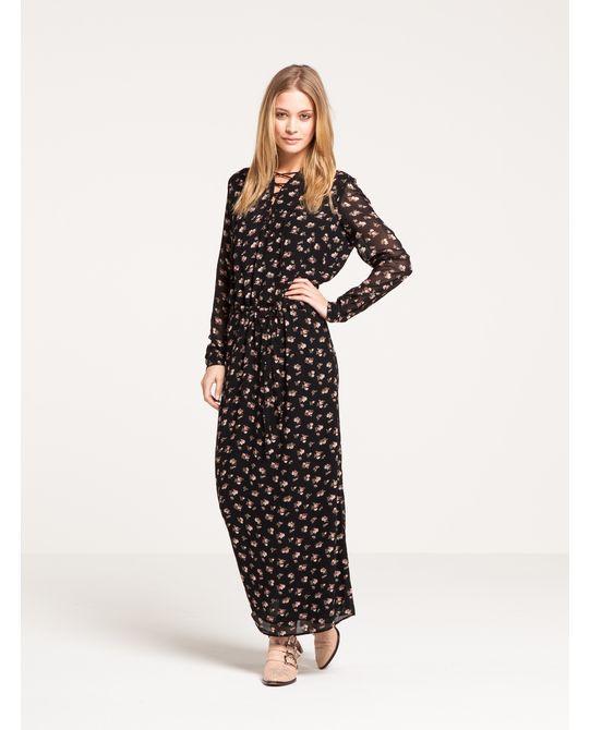 Long Floral Dress | Dresses | Women's Clothing at Scotch & Soda