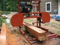 """Sawmill Portable Bandsaw mill KIT 36"""" X 16'  $1,295.00 (PHOTO INCLUDED)"""
