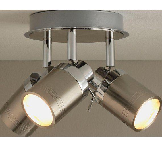 Buy Collection Livorno 3 Light Bathroom Spotlight Chrome At Argos Co Uk