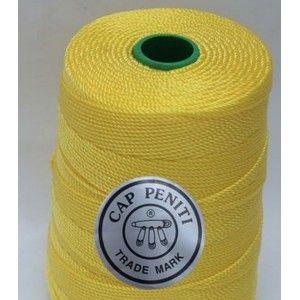 HOT Product - Benang Rajut Nylon Cap Peniti 300gr Berat : 300 gram / gulung  Benang nilon D27 Jenis benang tidak luntur, tidak sama dengan benang poly. Benang nylon atau nilon memiliki tekstur yang keras serta mengkilap, lebih kuat dibandingkan dengan benang polyester. Karena tekstur nya keras atau kaku maka benang ini sangat pas digunakan untuk membuat tas ataupun dompet.  http://www.dbest-craft.com/benang-lokal/322-benang-rajut-nylon-cap-peniti.html