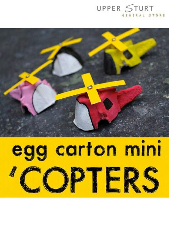Great way to recycle your egg cartons!