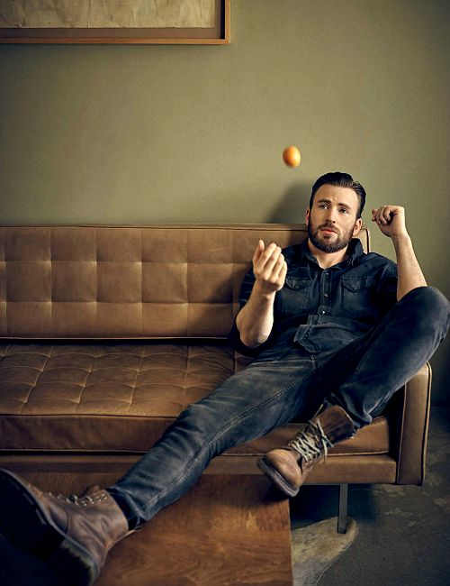 Chris Evans photographed for Esquire Middle East - April 2016