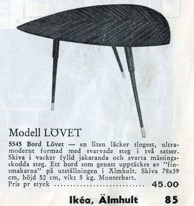 A Classic In The Making Lovet From Original IKEA Catalogue 40s