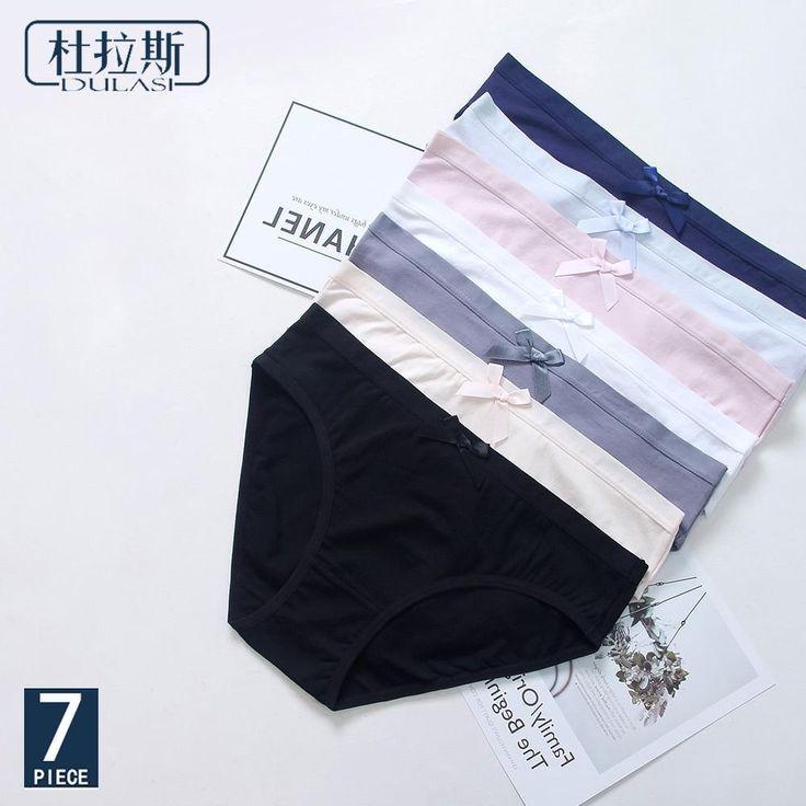 premium selection 5920c ad563 DULASI Damen-Slips aus Baumwolle Damen Unterwäsche nahtlose ...