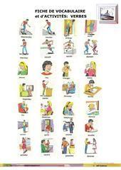 JEU DE CONJUGAISON fiche d'exercices - Fiches pédagogiques gratuites FLE