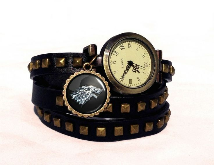 Leather watch bracelet Game of Thrones, 0251WBBC from EgginEgg by DaWanda.com