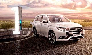 Mitsubishi Outlander PHEV TV AD