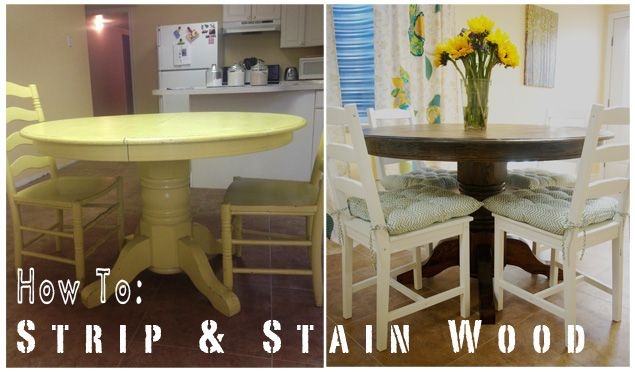 How To Strip And Stain Wood Stains Stain Wood And Remove Wallpaper