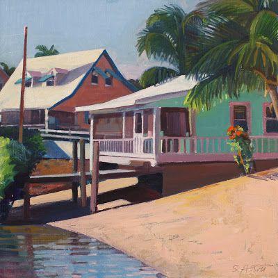 SUSAN ABBOTT, A Painter's Year: High Noon, Dockside