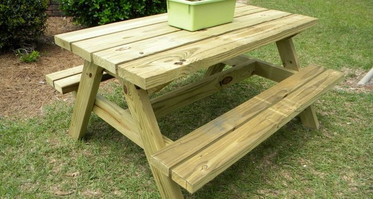 22 Appealing Diy Outdoor Table And Bench Ideas