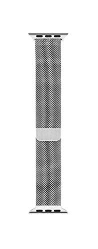 Buy Apple Milanese Loop Band (38mm, Silver) for an Apple Watch USED for 71.29 USD | Reusell