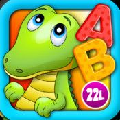 Alphabet Aquarium School Vol 1: Animated Bubble Puzzle Game with Letters for Preschool and Kindergarten Explorers by CFC s.r.o - Free: explore shapes and letters in an aquarium setting.