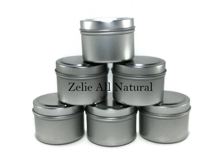 Excited to share the latest addition to my #etsy shop: Containers for Homemade Candle, Jewelries Making Supplies Storage, Seamless 6oz Tin Containers, Travel Sizes Containers