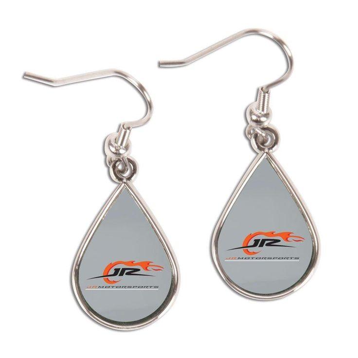 NASCAR JR Motorsports Tear Drop Earring