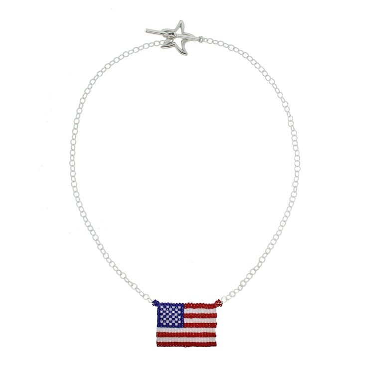 Old Glory Necklace | Fusion Beads Inspiration Gallery