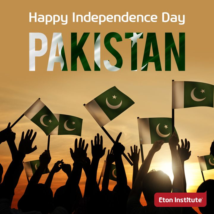 Celebrating Pakistan Independence Day!