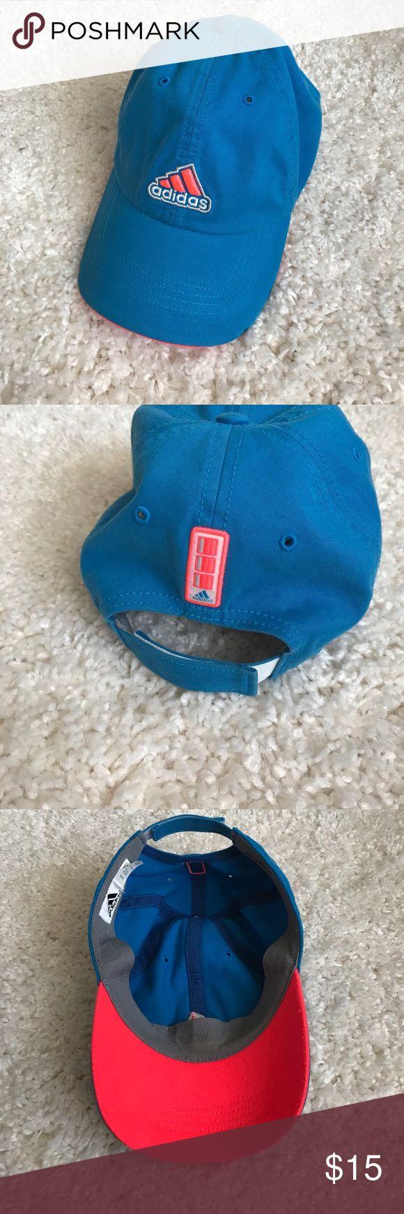 Adidas Baseball Hat Adidas Baseball Hat in Hot Pink and Baby Blue adidas Accessories Hats