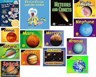 Loads of resources for a preschool space theme!